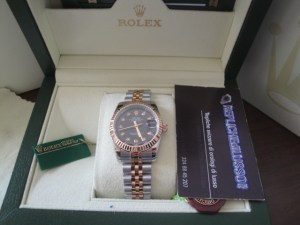 4rolex-replica-orologi-datejust-lady-acciaio-rose-gold-black