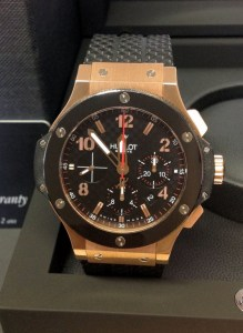 Hublot replica Big Bang 44mm 301.PB.131.RX Rose Gold
