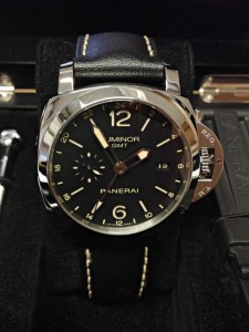 Panerai replica Luminor 1950 GMT PAM00531 Black 24He