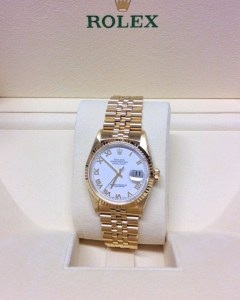 Rolex replica Datejust 16238 36mm Yellow Gold3