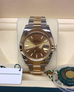 Rolex replica Datejust 41mm 126303 Bi-Colore
