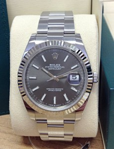 Rolex replica Datejust 41mm 126334 Rhodium Dial4