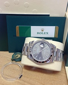 Rolex replica Datejust 41mm 126334 Rhodium Dial6