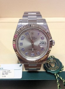Rolex replica Datejust II 116334 41mm Rhodium Dial
