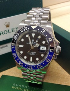 Rolex replica GMT Master II 126710BLNR Batman-1